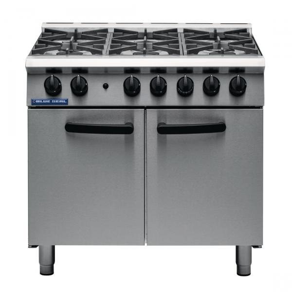 Blue Seal 6 Burner Oven Range G750