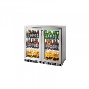 BC20HSE 2 Door Stainless Bar Counter