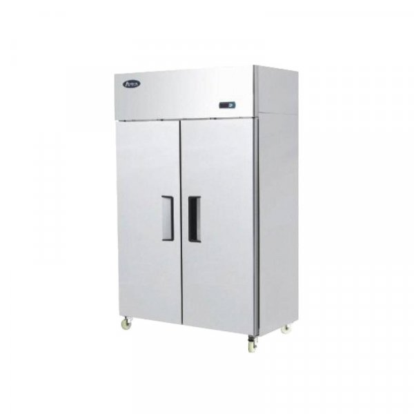 Unifrost Two Door Stainless Freezer F1000SV