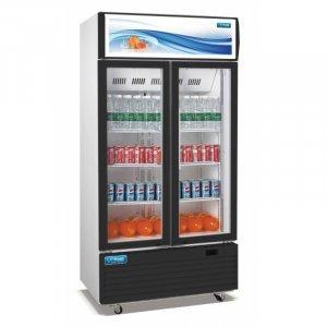GDR1000C 2 Door Display Cooler