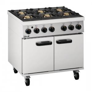 Lincat Phoenix 6 Burner Oven Range PHGR01