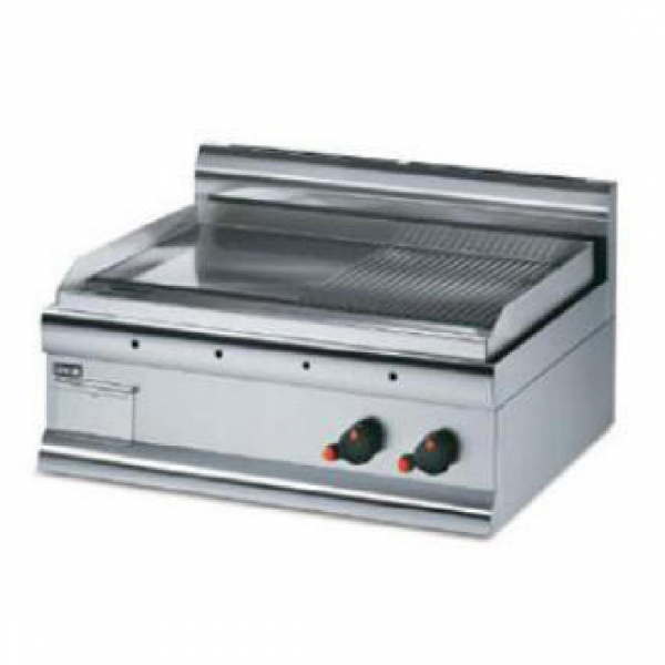 Lincat Silverlink 600 Half Ribbed Dual zone Electric Griddle GS7R