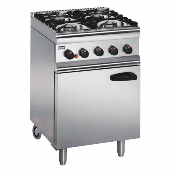 Lincat Silverlink 600 SLR6C 4 Burner Gas Oven Range