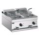 Lincat Twin Tank Twin Basket Countertop Electric Fryer DF618