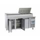 Refrigerated Prep Counter Fridge SH 3700