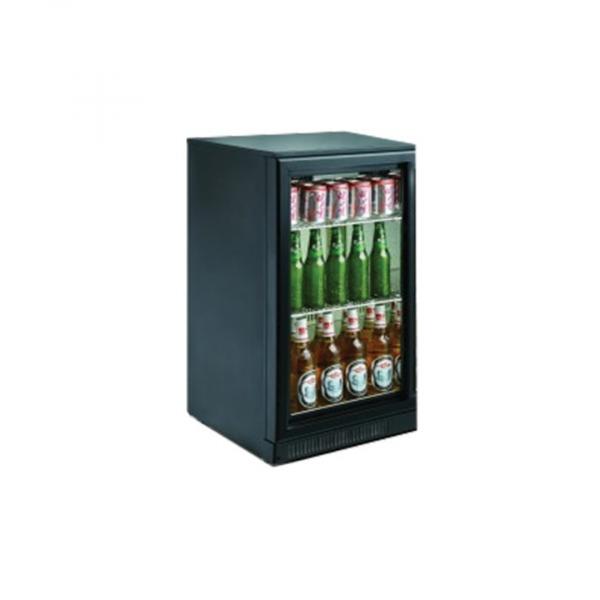 Cresco Black Single Door Bottle Cooler sc98F