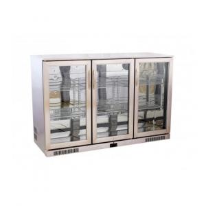 Cresco Stainless Steel Triple Door Bottle Cooler SC 298 FS