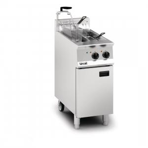 Lincat Opus 800 OE8105 Twin Tank Twin Basket Free Standing Electric Fryer with Pumped Filtration