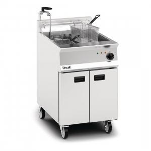 Lincat Opus 800 OE8108 Single Tank Twin Basket Free Standing Electric Fryer