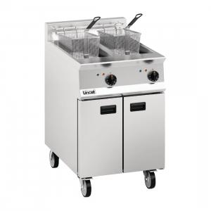 Lincat Opus 800 OE8113 Twin Tank Twin Basket Free Standing Electric Fryer