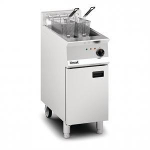Lincat Opus 800 OE8114 Single Tank Twin Basket Free Standing Electric Fryer
