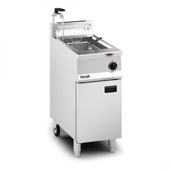 Lincat Opus 800 Single Tank Single Basket Free Standing Gas Fryer with Pumped Filtration OG8106  OP