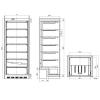 Tefcold Undercounter freezer UF600