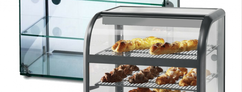 Lincat Seal 650 Series Counter-top Curved Front Ambient Merchandiser C6A/100B