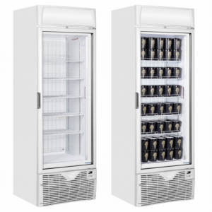 Framec White Display Freezer