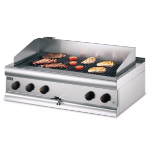 Lincat Silverlink 600 Electric Counter-top Chargrill with Water Connection