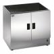 Lincat Silverlink 600 Heated Open Top Pedestal With Doors HC7