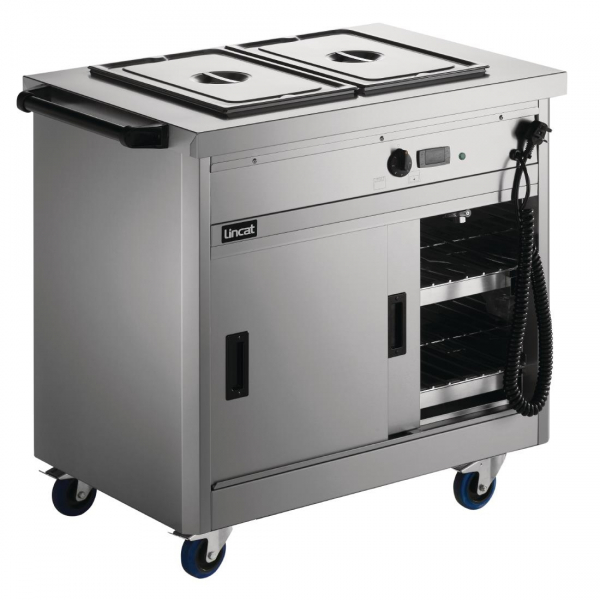Lincat Panther 670 Series Hot Cupboard with Bain Marie P6B2