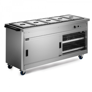 Lincat Panther 670 Series Hot Cupboard with Bain Marie P6B5