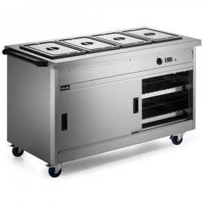 Lincat Panther Hot Cupboard with Bain Marie Top P8B4