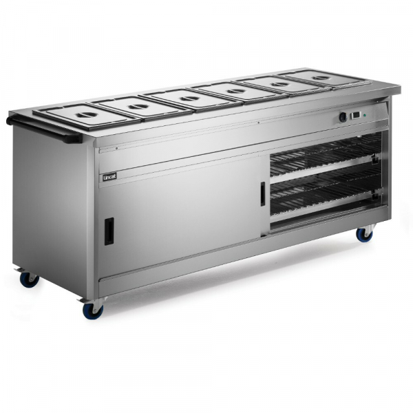 Lincat Panther Hot Cupboard with Bain Marie Top P8B6