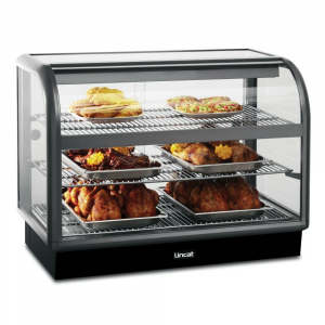 Lincat Seal 650 Curved Front Heated Display Unit C6H/100B