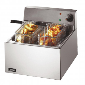 Lincat Single Tank Twin Basket Countertop Electric Fish Fryer LFF