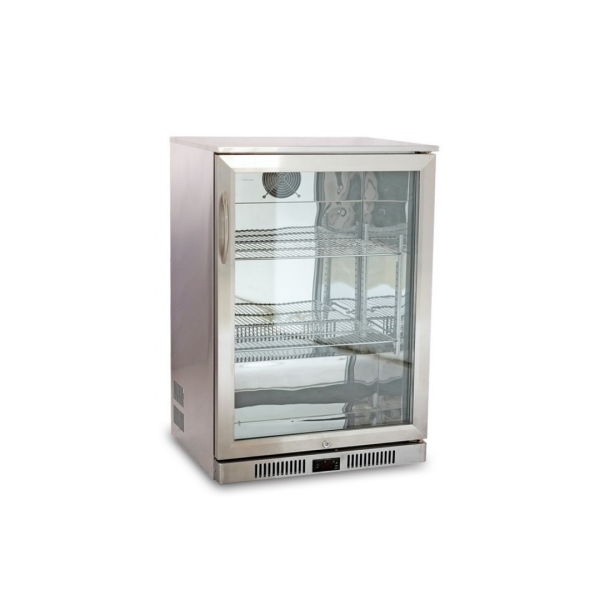 Cresco Stainless Steel Single Door Bottle Cooler SC 98 FS