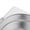 Vogue Stainless Steel 1/1 Gastronorm Pan With Handles 100mm