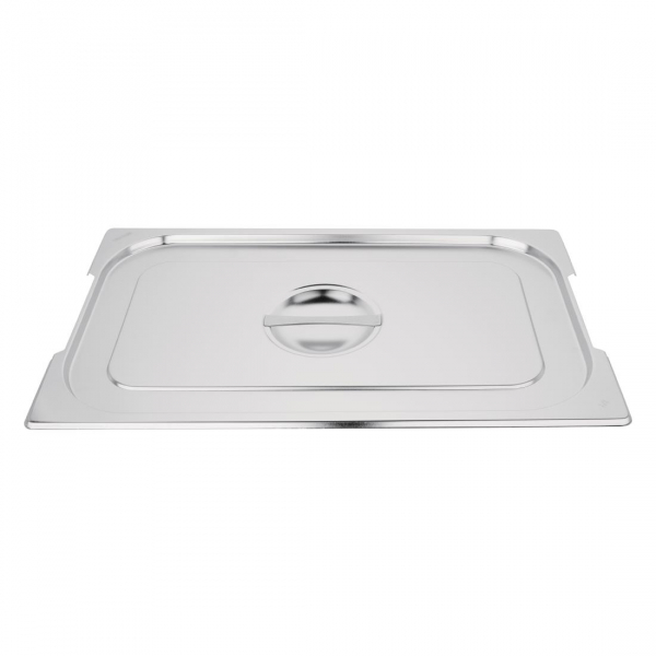 Vogue Stainless Steel 1/1 Gastronorm Handled Pan Lid