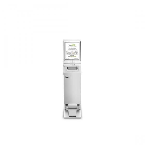 IMC Junior Reduced Height Mobile Hand Sanitising Station