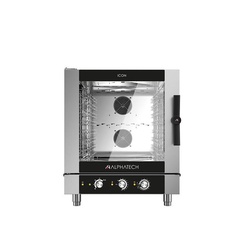 Alphatech 7 Grid Manual Control Combi Oven ICONM7E